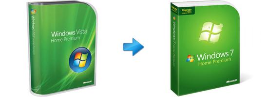 Upgrade from Vista to Windows 7