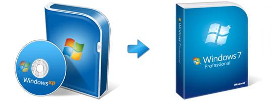 Upgrade Windows XP to Windows 7