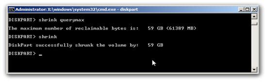 Windows 7 Partition