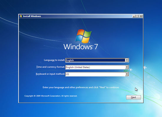 Windows 7 System Repair Disc