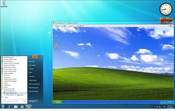 Windows 7 XP Mode