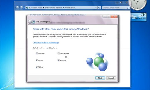 Windows 7 Features
