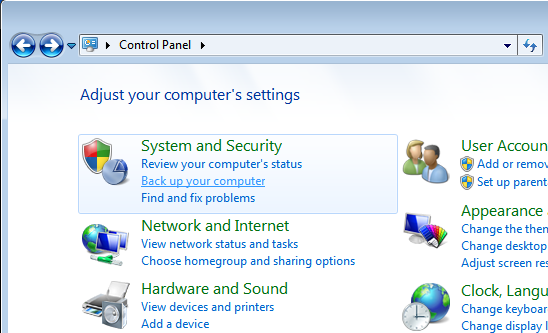 Windows 7 System Repair Disc